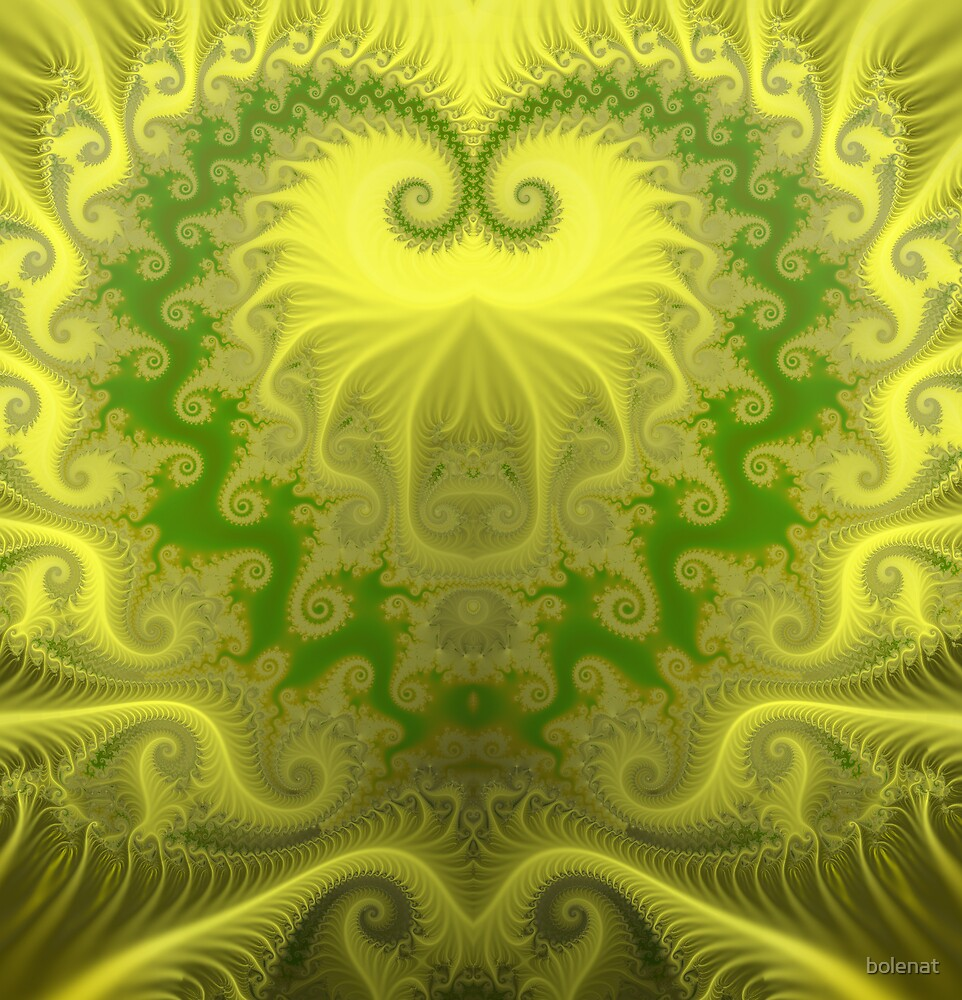 Golden heart by bolenat