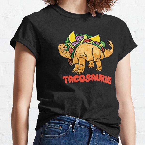 Tacosaurus Funny Tacos & Dinosaurs Classic T-Shirt