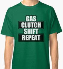 Gaskupplungs-Schaltwiederholung Classic T-Shirt