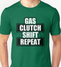 Gas clutch shift repeat T-Shirt