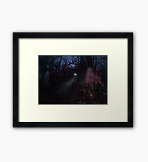 Midnight Visitor Fore the Hallows Framed Print