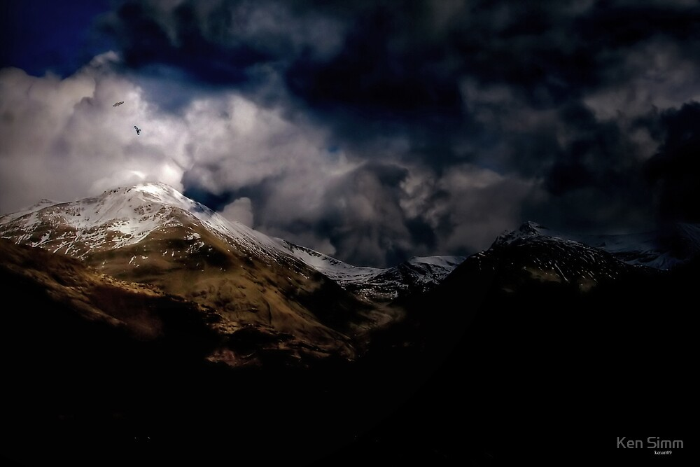 Fourth Movement. The Glen and the Famous Storm 1860 by Kenart
