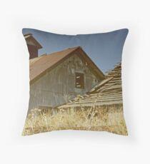 Forgotten Coal Mine Throw Pillow