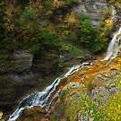 Lucifer Falls in Autumn by Jeff Palm Photography
