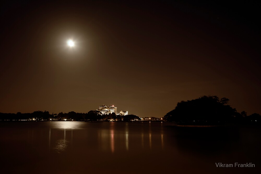 Moon over B'lore by Vikram Franklin