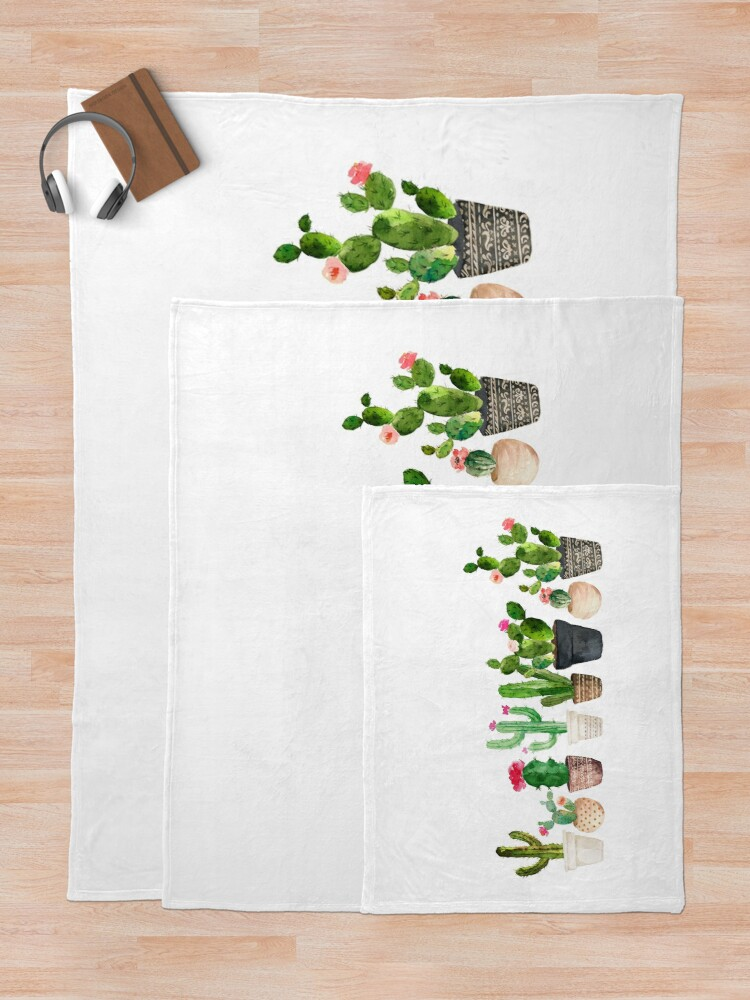 Alternate view of Cactus Throw Blanket