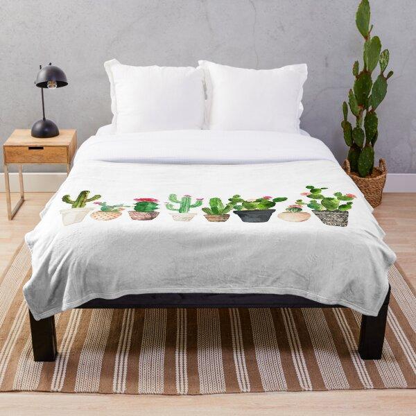 Cactus Throw Blanket