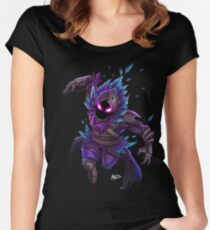 Raven (No BG) Women's Fitted Scoop T-Shirt
