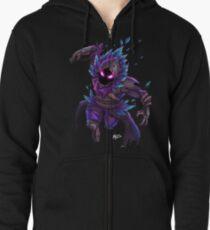 Raven (No BG) Zipped Hoodie