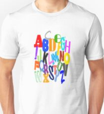 Alphabet ABC Unisex T-Shirt