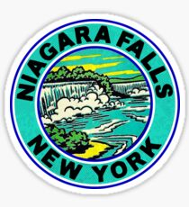 Niagara Falls New York VintageTravel Sticker