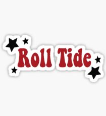 Roll Tide-groovy Sticker