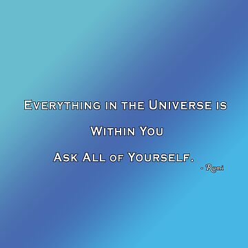 Everything Everything Rumi by Born2Glow