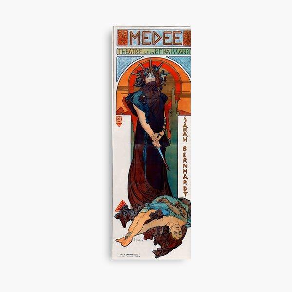 Medea,1898,litography,Alphonse Mucha,art nouveau Canvas Print