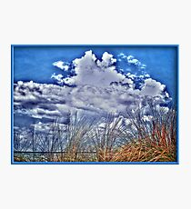 Florida Clouds HDR Photographic Print