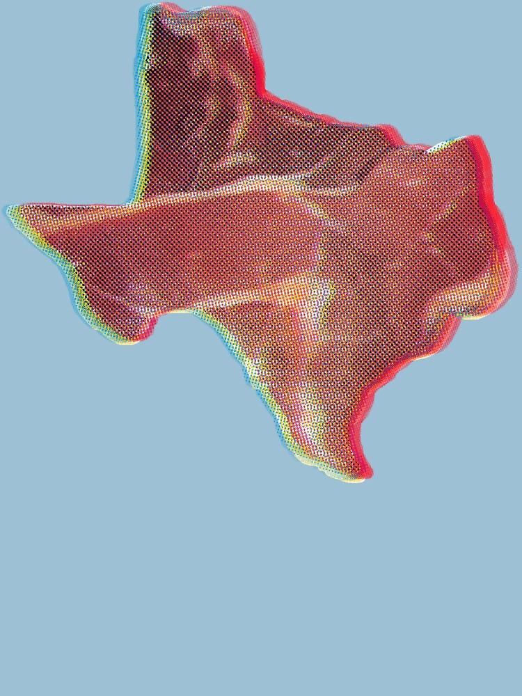 Texas in 3D by karlfrey