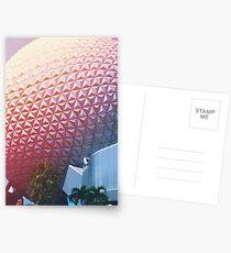Weinlese EPCOT Postkarten