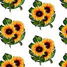 Sunflower Boquet by fosterscreation