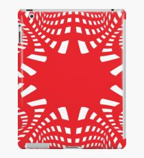 #pattern #abstract #texture #design #wallpaper #illustration #christmas #blue #white #decoration #red #art #snow #seamless #decorative #green #winter #black #ornament #retro #digital #pink #snowflake iPad Case/Skin