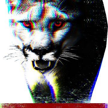 Stay Wild - Puma with RGB effect by Skady666