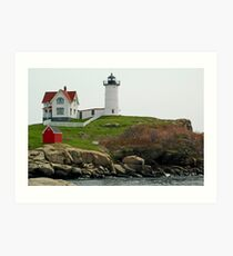 Cape Neddick Lighthouse Art Print