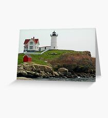 Cape Neddick Lighthouse Greeting Card