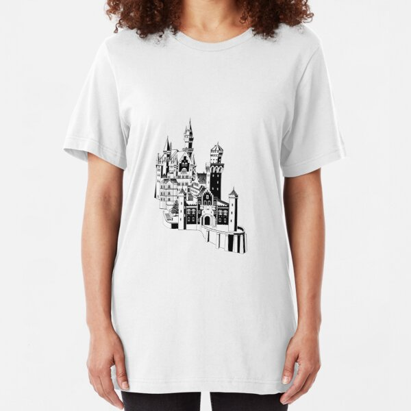 Neuschwanstein Slim Fit T-Shirt