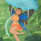 Fairy of Amazon Forest by SilveryDreams