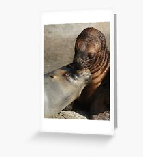Sealed with a loving kiss Greeting Card