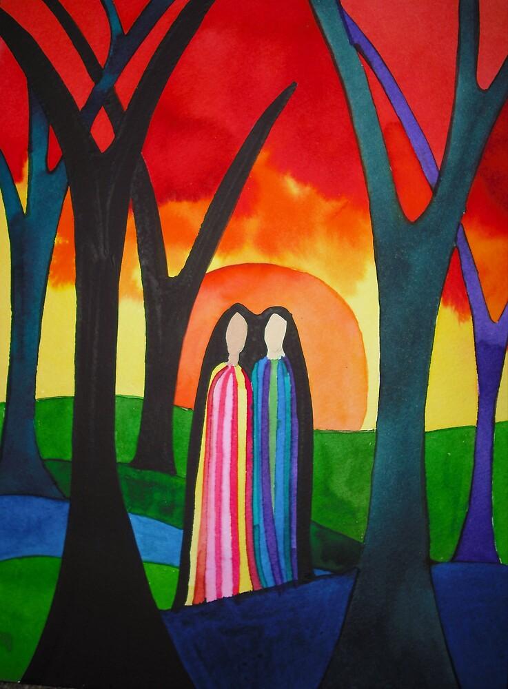 Ladies Of The Autumn by Jamie Winter-Schira