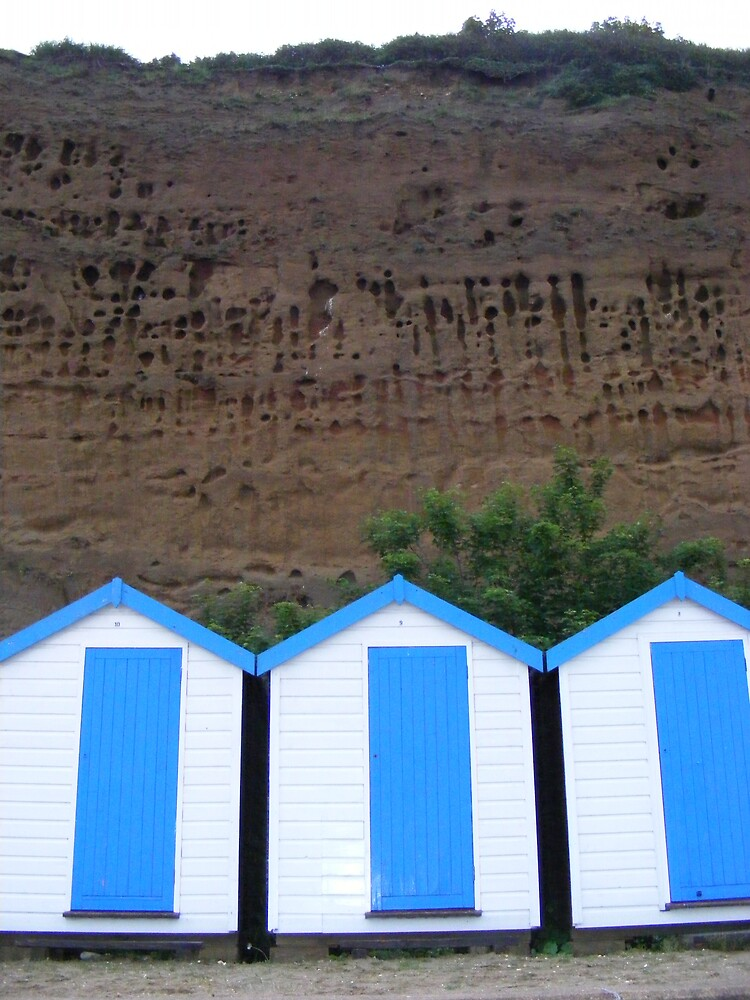 Beach huts by MeJude