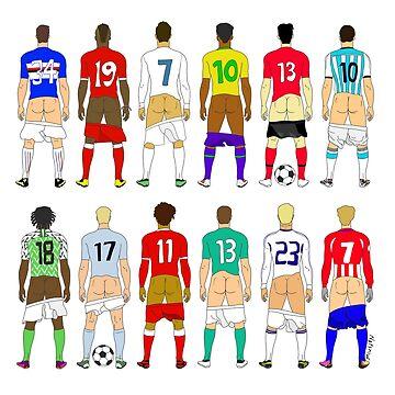 Soccer Butts by notsniwart