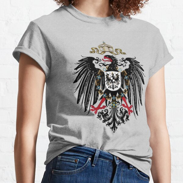 Imperial Coat of arms of Germany Kaiserreich Hearts of Iron 4 Classic T-Shirt
