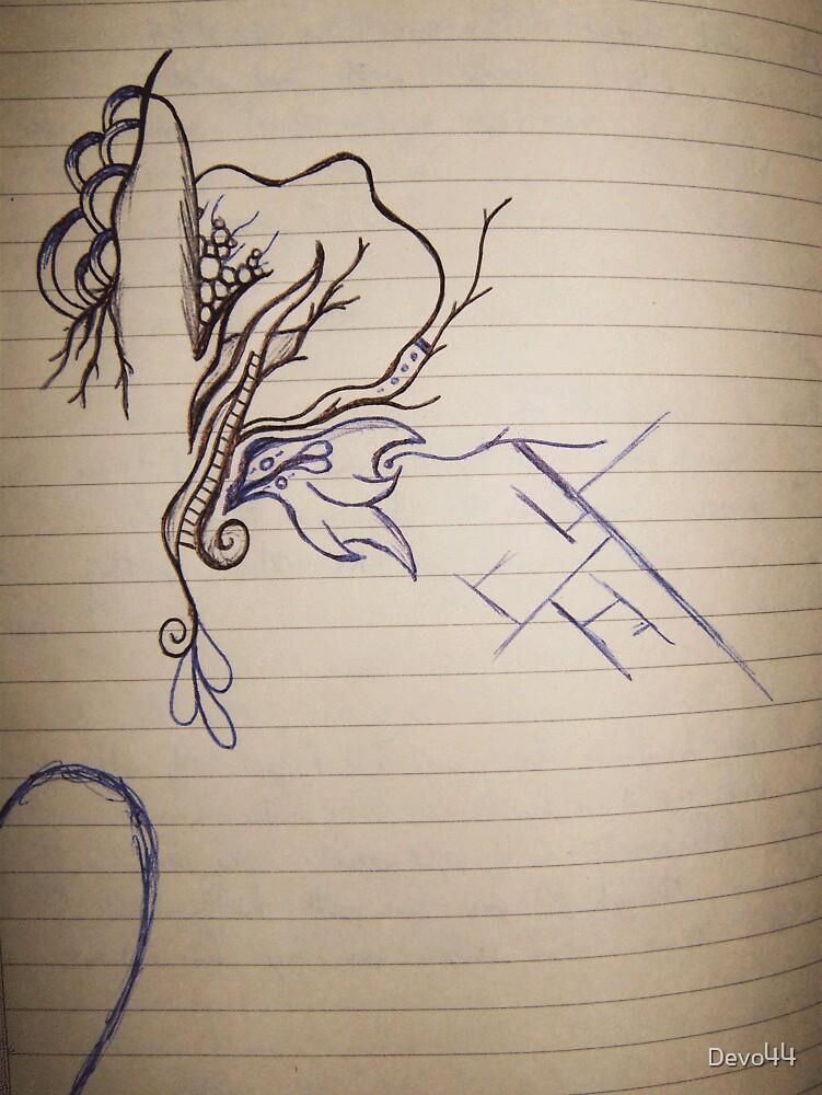 Book Sketch 1 by Devo44
