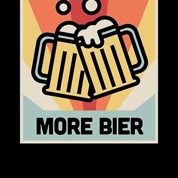 Vintage Craft Beer / Homebrew Beer by EMDdesign