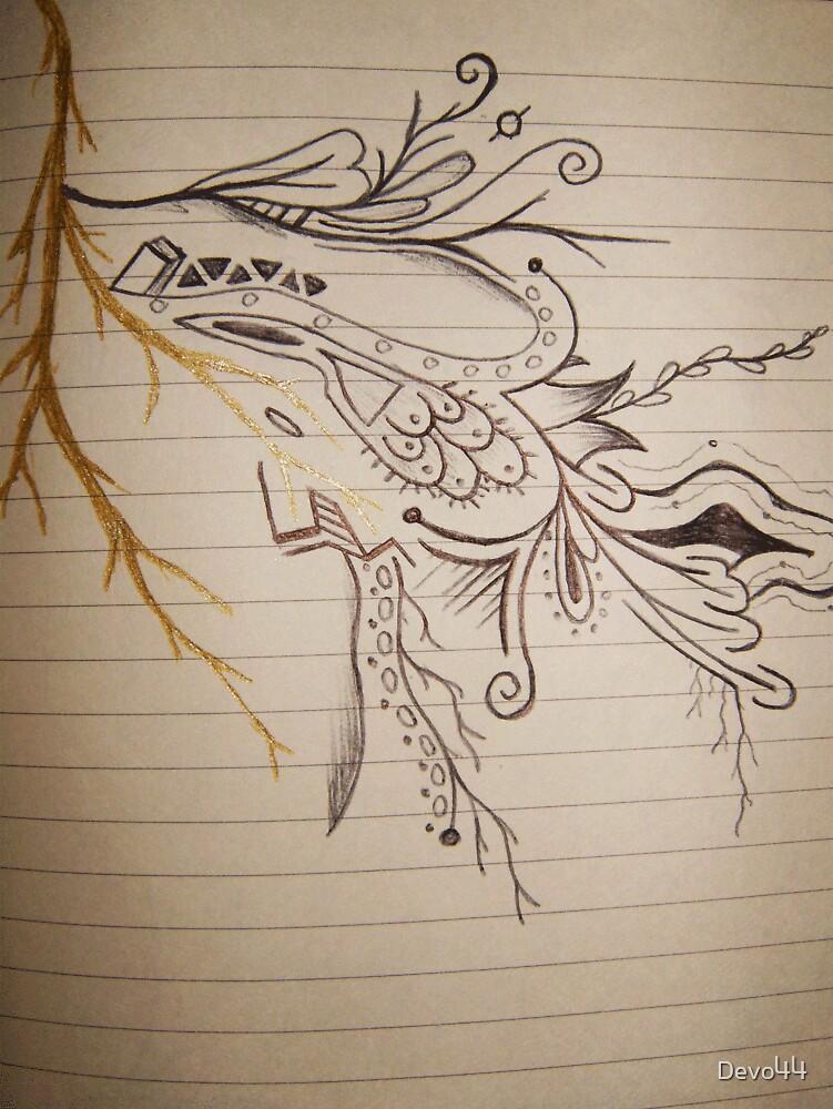 Book Sketch 2 by Devo44