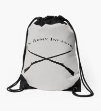 U.S. Army Infantry Drawstring Bag