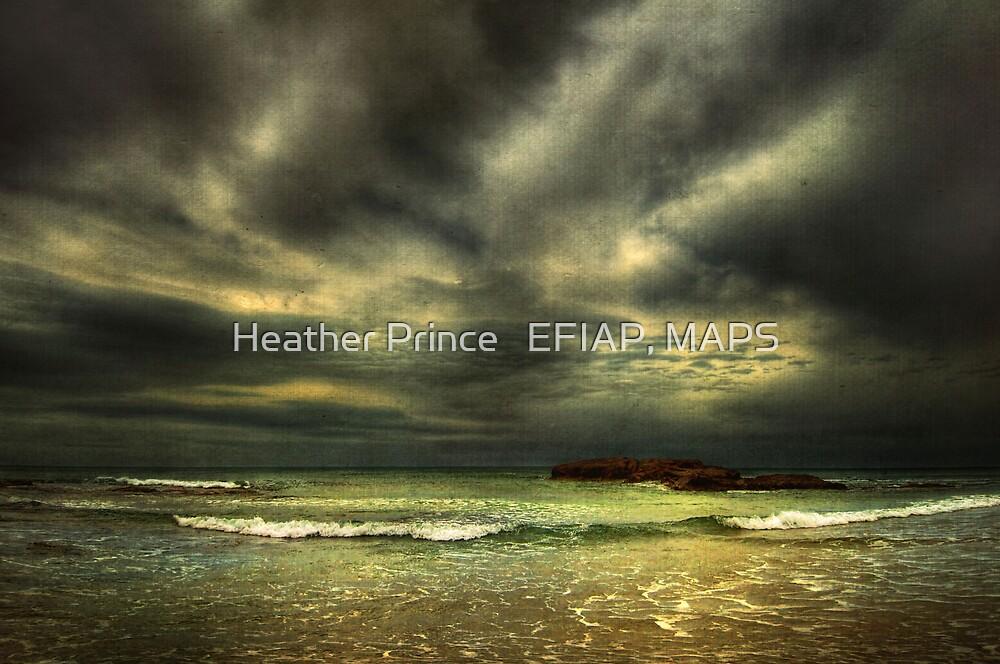 Moody Ocean by Heather Prince
