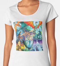 Flügel des Feuers alle Drachen Frauen Premium T-Shirts