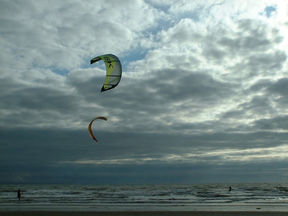 Wind surfers by MeJude