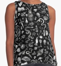 Salem Witch in Black Sleeveless Top