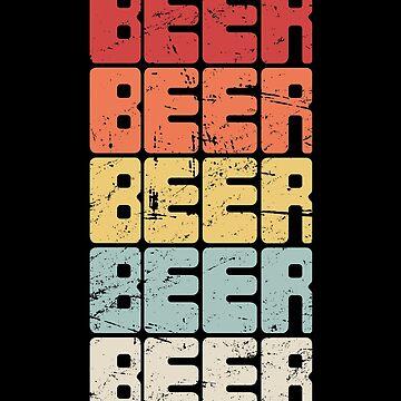 Craft Beer Lover / Homebrew Beer Retro by EMDdesign