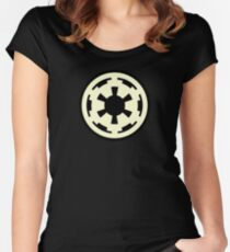 Tape Recorder Symbol Women's Fitted Scoop T-Shirt