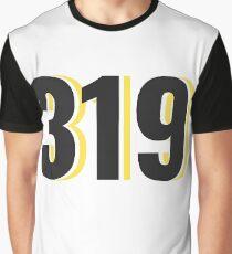 Iowa City Area Code Graphic T-Shirt