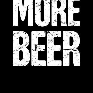 Funny Craft Beer Lover / Homebrew Beer by EMDdesign