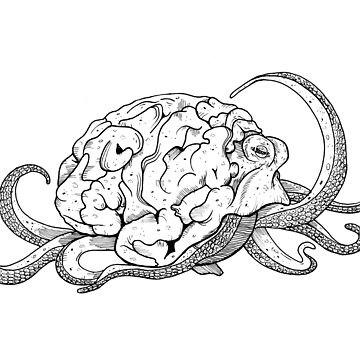 Brainoctopus by absolemstudio
