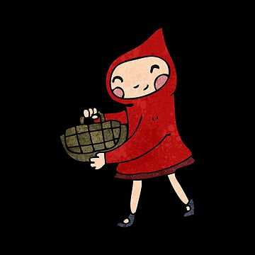 Little Red Riding Hood  basket of goodies by SterlingTales