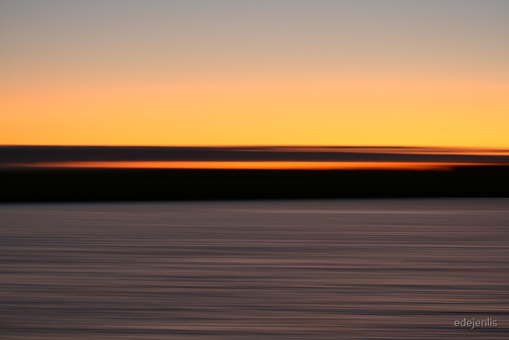 Sunset on Ile de Ré by edejenlis