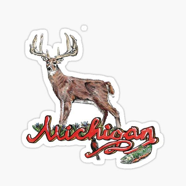 Michigan Logo Sticker