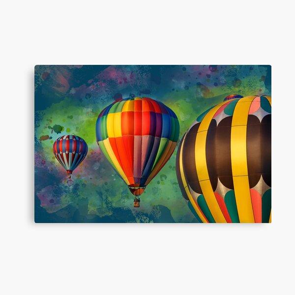 Artistic Hot Air Balloons Canvas Print